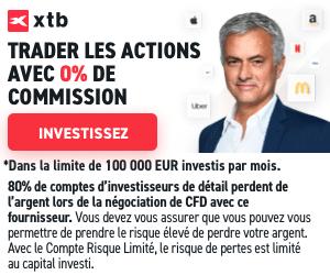 banniere XTB zero commission 300 250